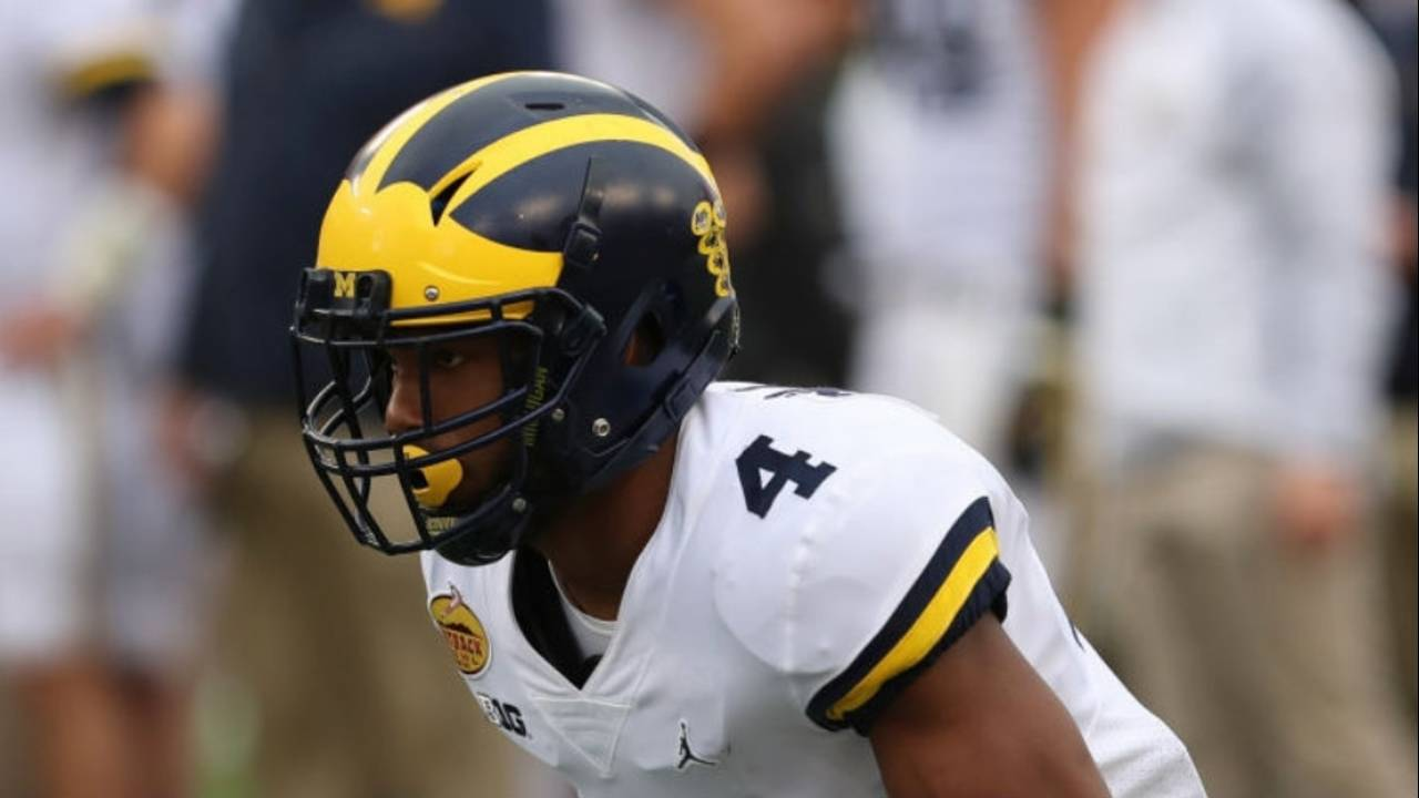 Nico Collins Michigan football vs South Carolina Outback Bowl 2017