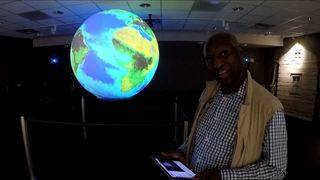 'Big blue marble' educates Earthlings about their planet at Homestead