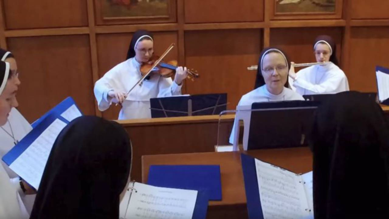 Jesu Joy rehearsal
