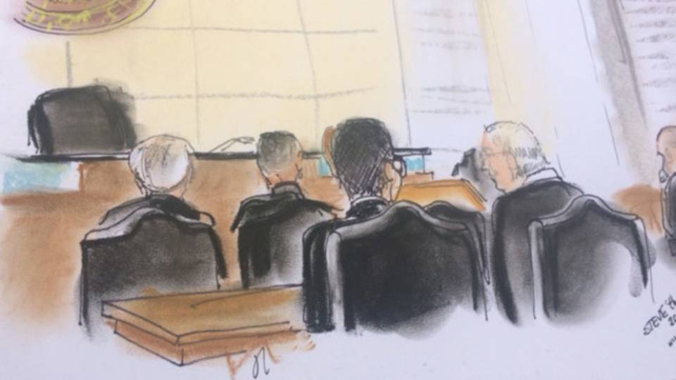 Sentencing Ronnie Simmons-sketch