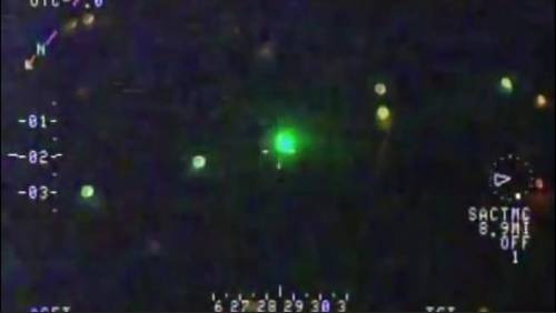 Charges filed after DPS helicopter hit by laser