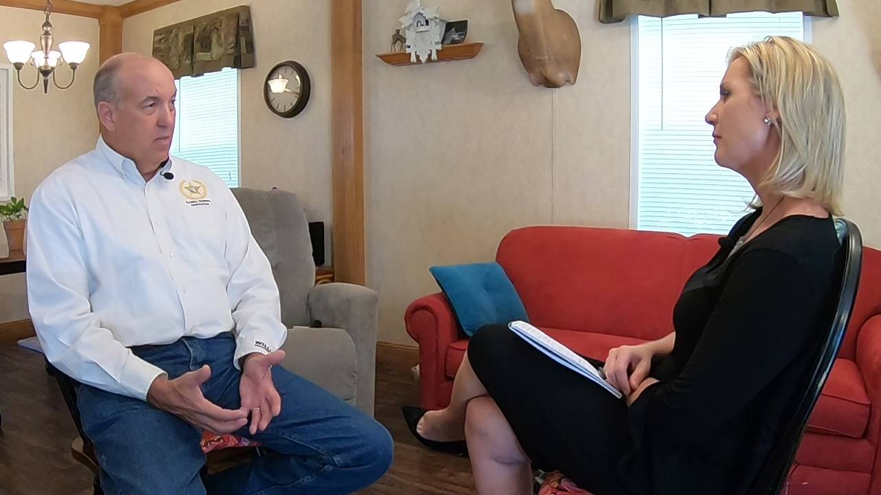 Jen Waugh interview with former Sheriff Beseler