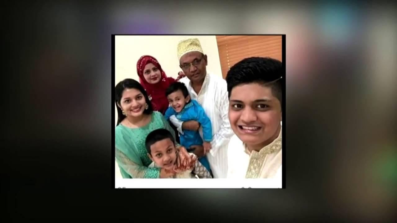 Ayub Ali and family
