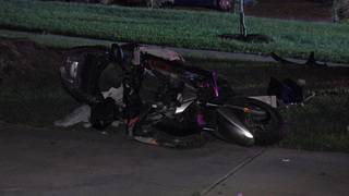 Scooter driver killed in hit-and-run crash, police say