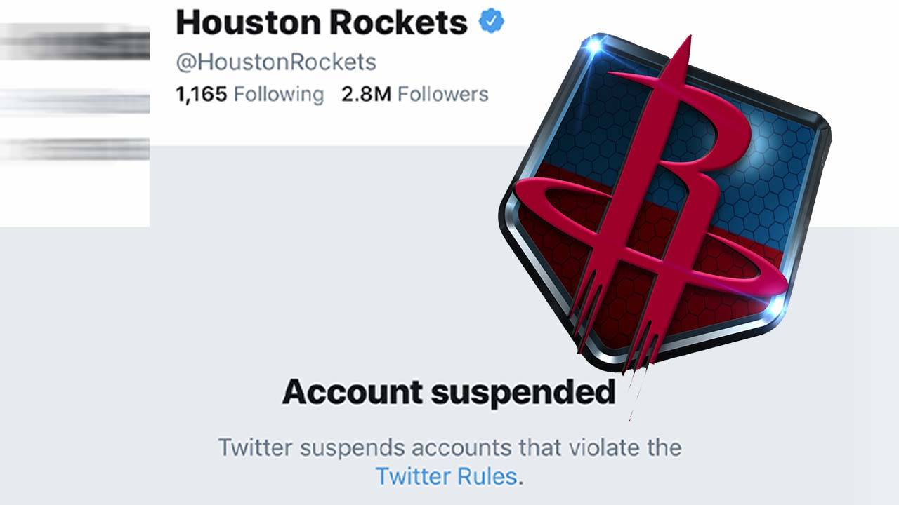 rockets twitter account suspended 052019