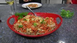 Daytime Kitchen: Shrimp & Scallops in Wine Sauce