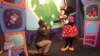 Disney World guest proposes to Minnie -- right in front of Mickey