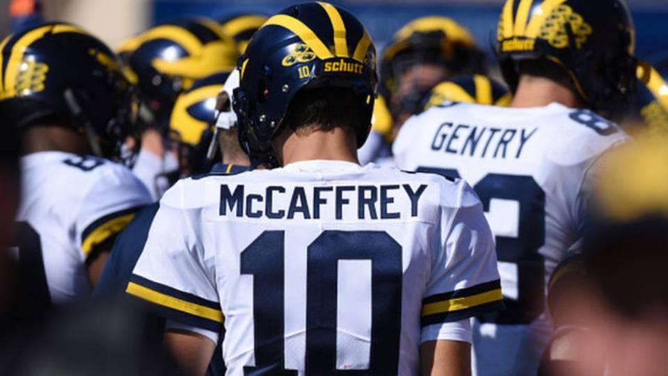 Dylan McCaffrey Michigan football