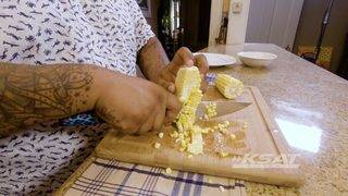Chef Tatu's How-To: Cut Corn Off The Cob