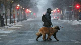 Turbulent mix of rain, snow, ice hits eastern half of US