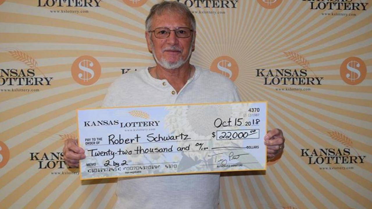 Kansas Man Wins $22,000 With a Free Lottery Ticket