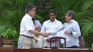 During meeting in Cuba, Colombian rebel guerrilla ELN spokesman says&hellip&#x3b;