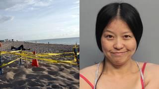 Woman arrested for disturbing sea turtle nest on Miami Beach