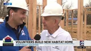 Gallery Furniture volunteers build new Habitat home