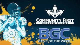 See if your team is playing in this week's BGC Game of the Week