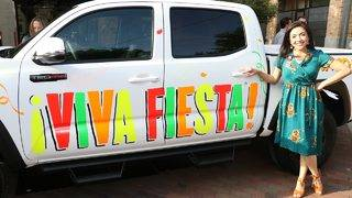 See what Toyota excitement you can find at Fiesta events this year