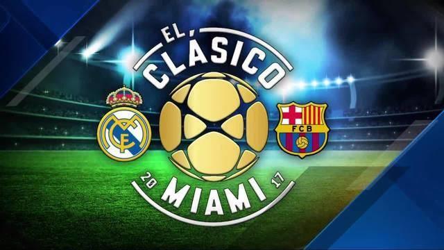 El Clásico\'s futbol fever takes over Miami