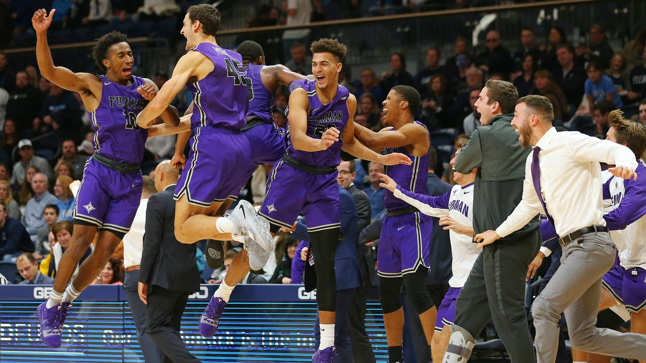 Furman beats Villanova 2018