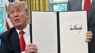 What Trump's family separations executive order does
