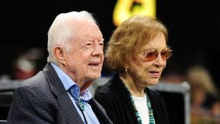 Jimmy, Rosalynn Carter now longest-wed presidential couple