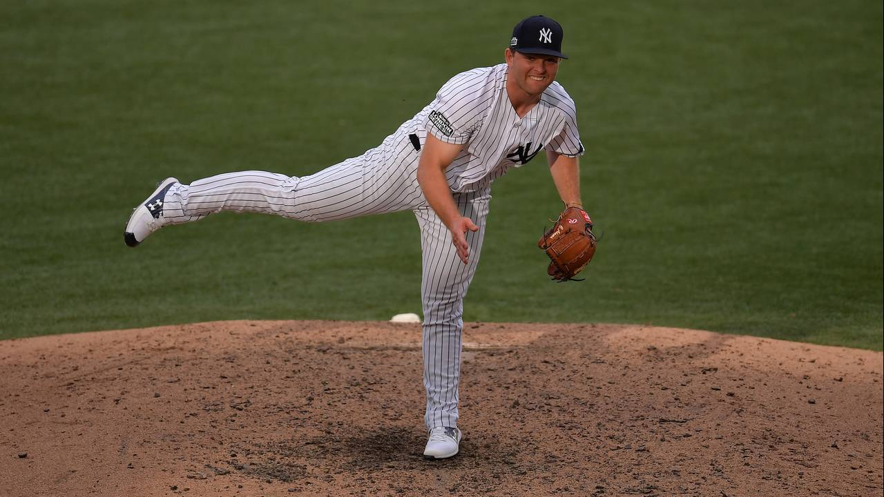 Chance Adams New York Yankees 2019