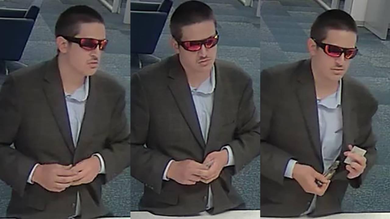 Dapper desperado fbi bank robber