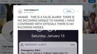 Missile threat alert for Hawaii a false alarm&#x3b; officials blame employee&hellip&#x3b;
