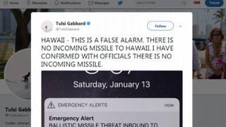 Missile threat alert for Hawaii a false alarm&#x3b; officials blame employee&hellip&#x3b;