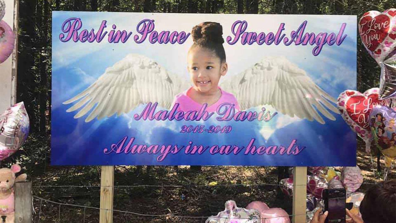 Maleah Davis memorial in Arkansas