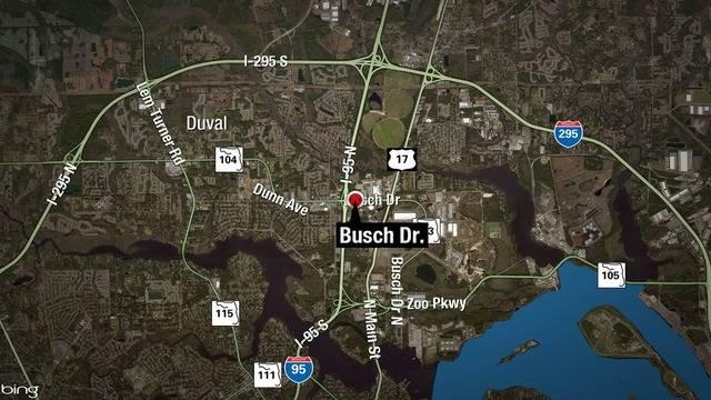 Busch Drive map