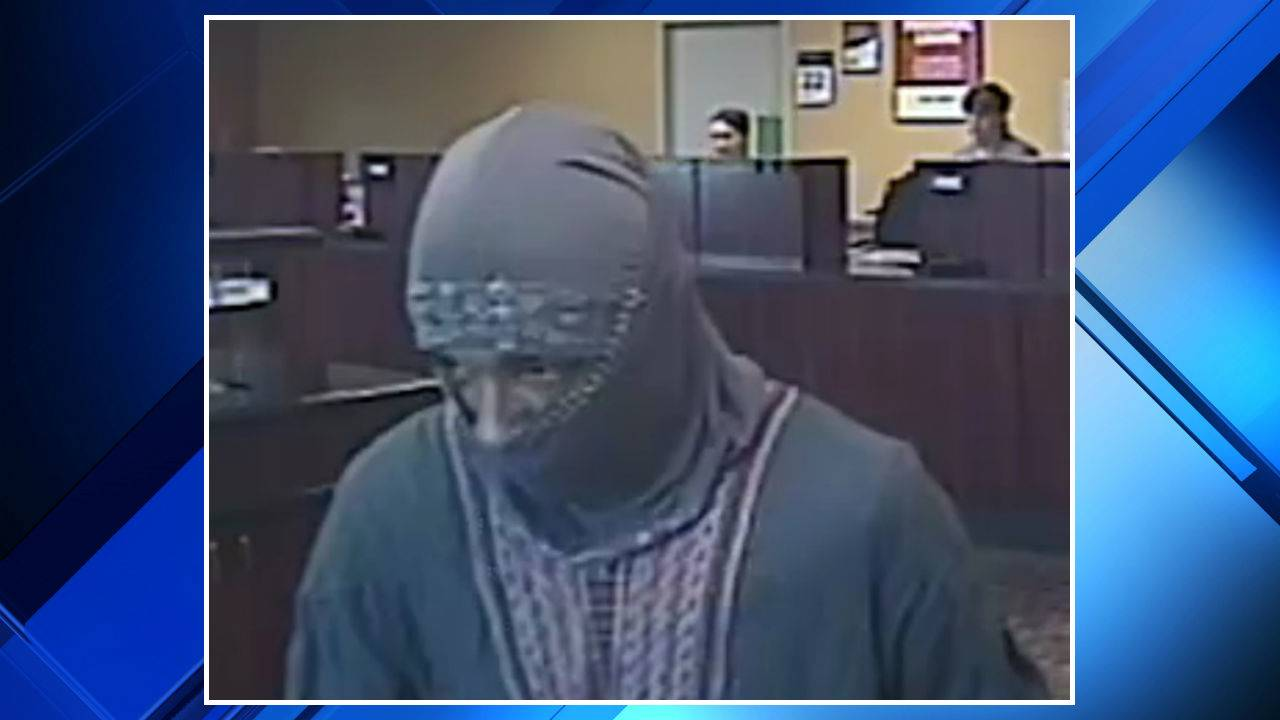 Chesterfield Township bank robbery suspect 1