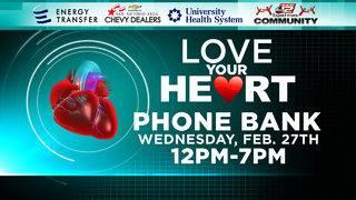 KSAT Community: Love Your Heart Phone Bank, Love Your Heart Day