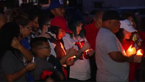 Family, friends hold vigil for Dickinson Little League coach killed in hit-and-run crash