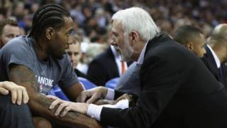 Video: Gregg Popovich talks about decision to sit Kawhi Leonard indefinitely