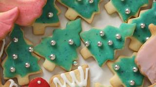 Stay away from silver balls on Christmas cookies