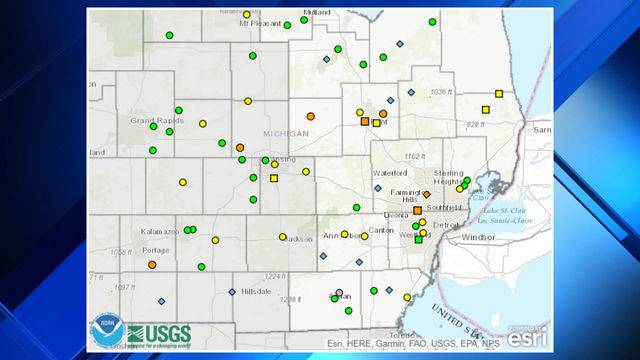 FLOOD MAP Check If A Body Of Water Near You Might Flood - Flood check map