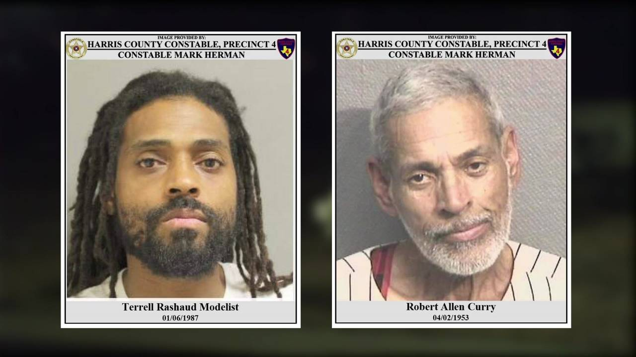 Robert Curry and Terrell Modelist Houston National Cemetery theft 6-11-19