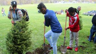 East English Village Prep Academy celebrates Arbor Day with tree&hellip&#x3b;
