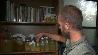 Orlando man living on what he can grow for one year