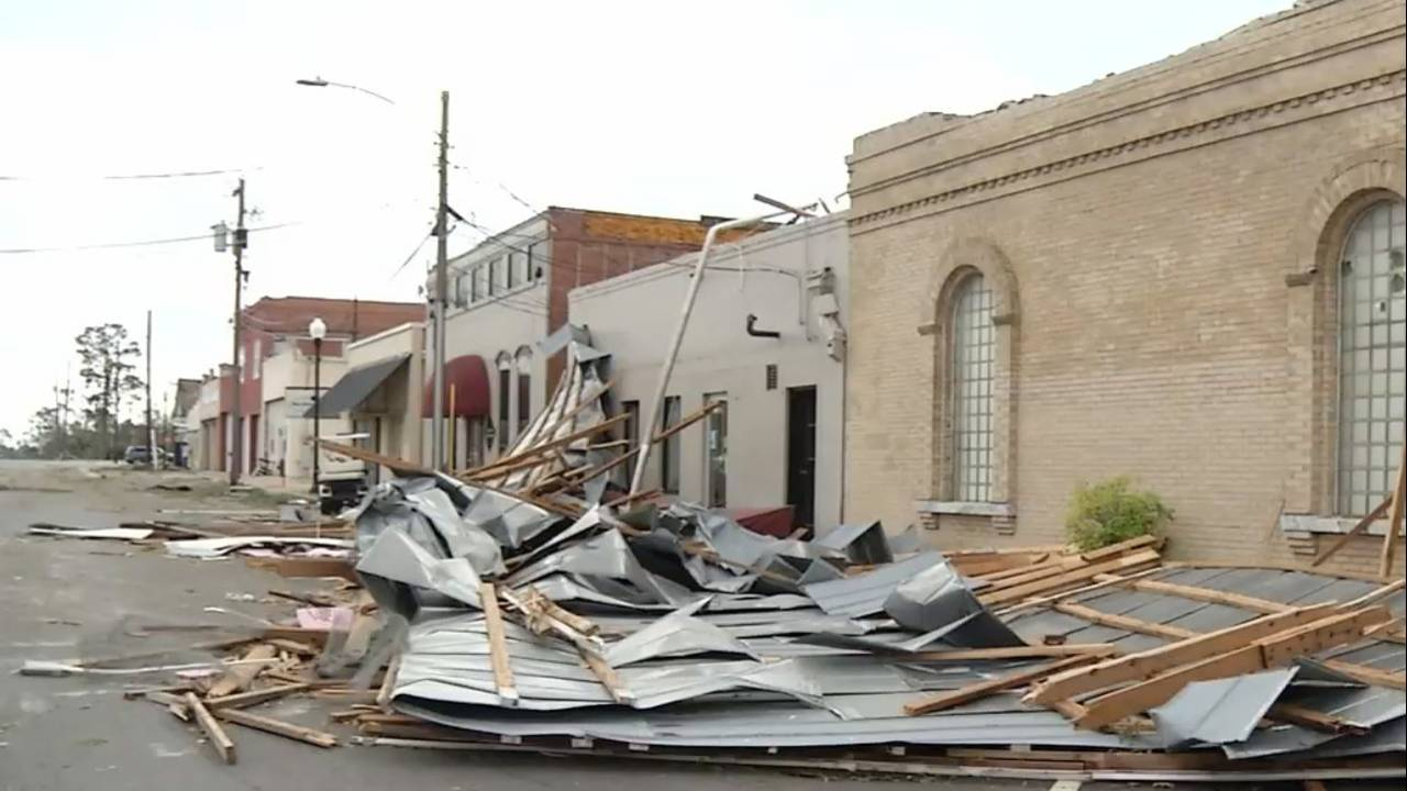10-11-18 Seminole County, Georgia, damage Hurricane Michael 2