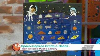 San Antonio Library offers space-inspired books, crafts