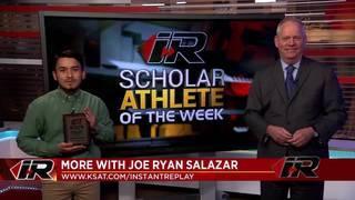 Scholar Athlete: Joe Ryan Salazar, Kennedy High School