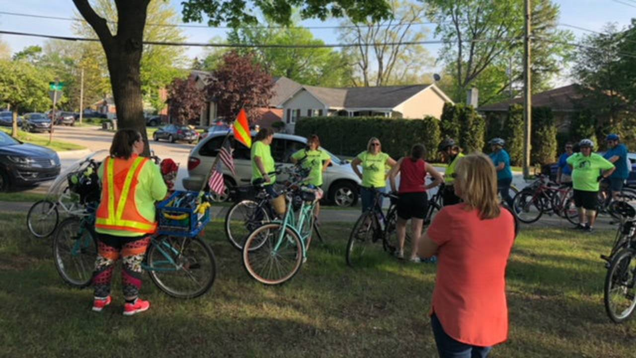 Ride of Silence Dearborn 1