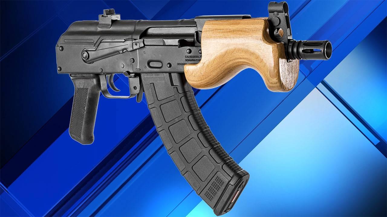 Century Arms Micro Draco AK-47 semi-automatic pistol