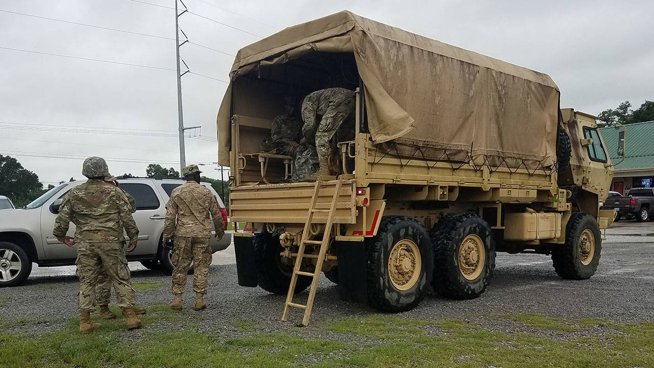Barry blog - National Guard troops 7-12-19