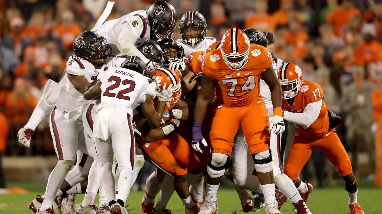 Clemson football vs. South Carolina: Time, TV schedule ...