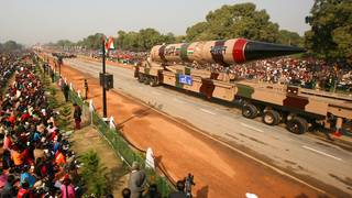 India tests-fires Agni-V, a nuclear-capable ICBM