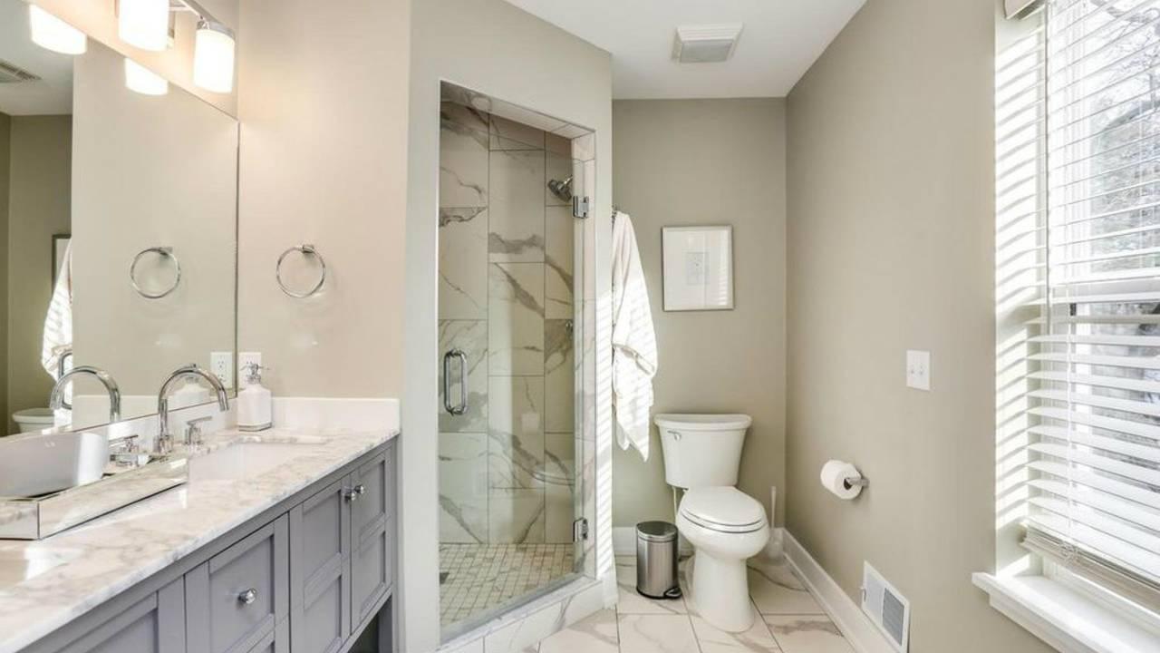 214 Westover St master bath shower