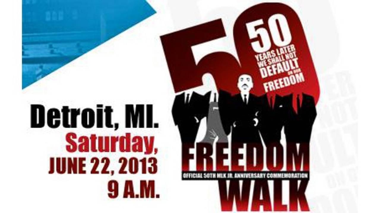 50th Anniversary Freedom Walk in Detroit_20667686