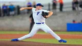 Leftwich pitches 6 perfect innings as Florida eliminates Army